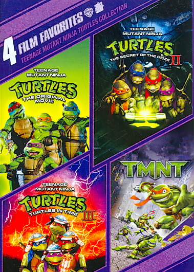 4 FILM FAVORITES:TEENAGE MUTANT NINJA BY TEENAGE MUTANT NINJA (DVD)